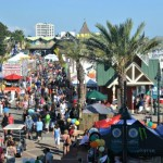 Destin seafood festival at the Harborwalk