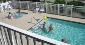 Sea Oats Motel has the beach and the pool just for you!