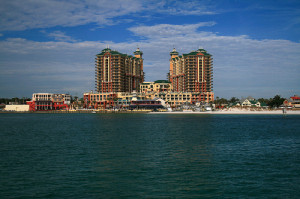 Many people come from all over the world to visit Destin and the Sea Oats Motel.