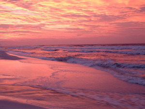 Destin sunsets are beautiful.