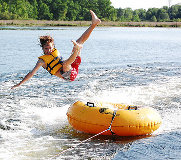 Fall off the tube while staying with Sea OAts!