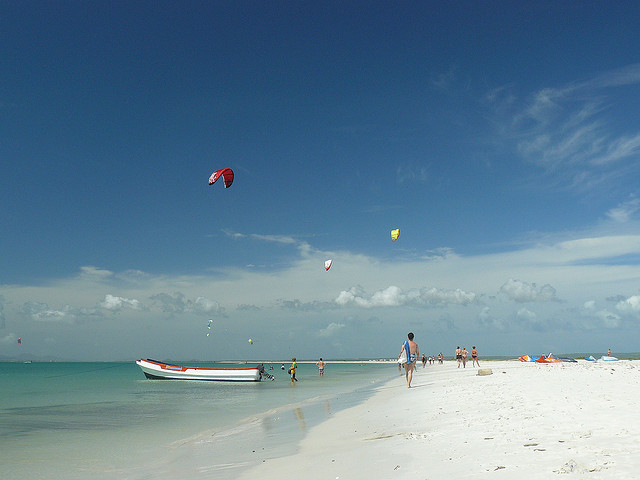 Kite Boarding on the Emerald Coast