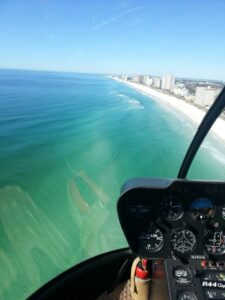 Destin from above - helicopter tours