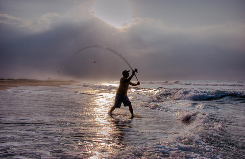 Get hooked the sea oats motel management company for Surf fishing destin fl