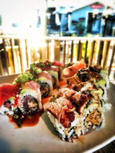 destin vacation, sushi, harbor docks